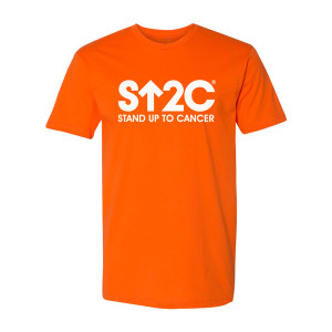 SU2C Short Logo T-Shirt (Orange)