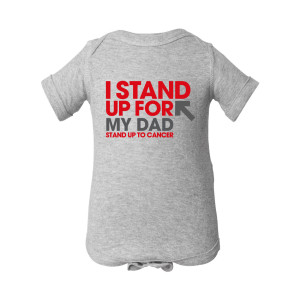 SU2C I Stand Up For My Dad Onesie