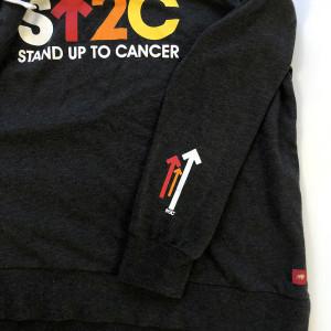 SU2C Short Logo Women's Hoodie (Black)