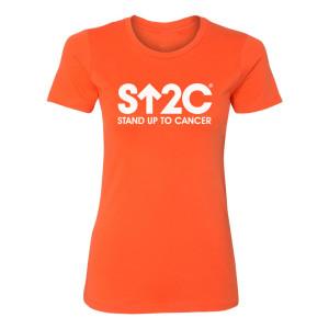 SU2C Short Logo Women's T-Shirt (Orange)