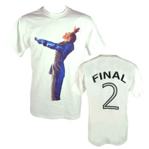 "GM Earls Court ""Final 2"" Event White T-shirt"