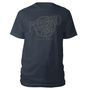 Fleetwood Mac Live Logo Tee