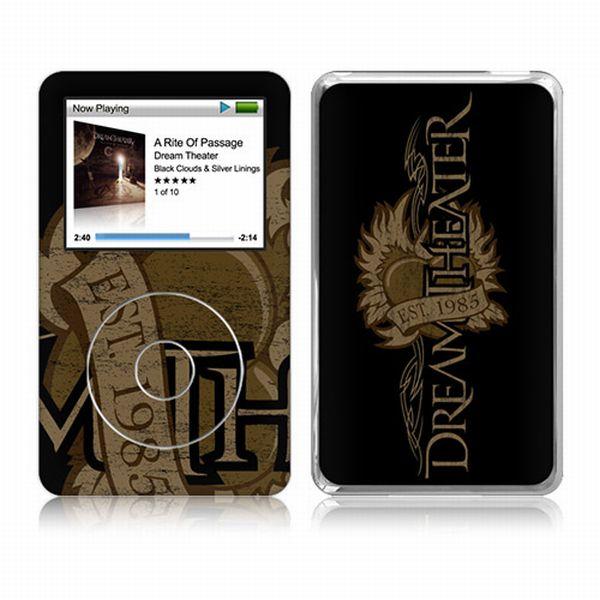Dream Theater Tattoo Heart iPod Classic Skin