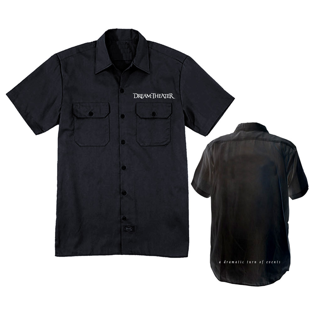 New - Dream Theater Work Shirt