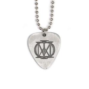 Metal Guitar Pick Necklace