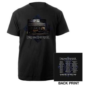 Dream Theater Enigma Machine Euro 2014 Tour Tee