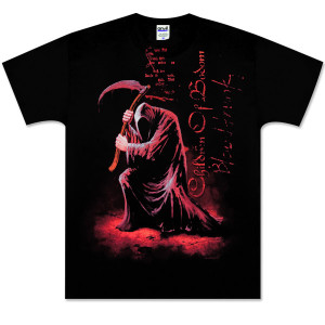Children of Bodom Red Reaper Black Tee