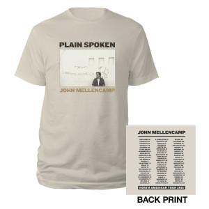Plain Spoken Album Tee
