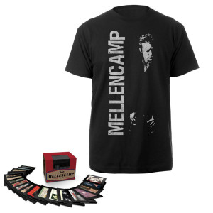 John Mellencamp 1978-2012 Box Set & Men's Tee