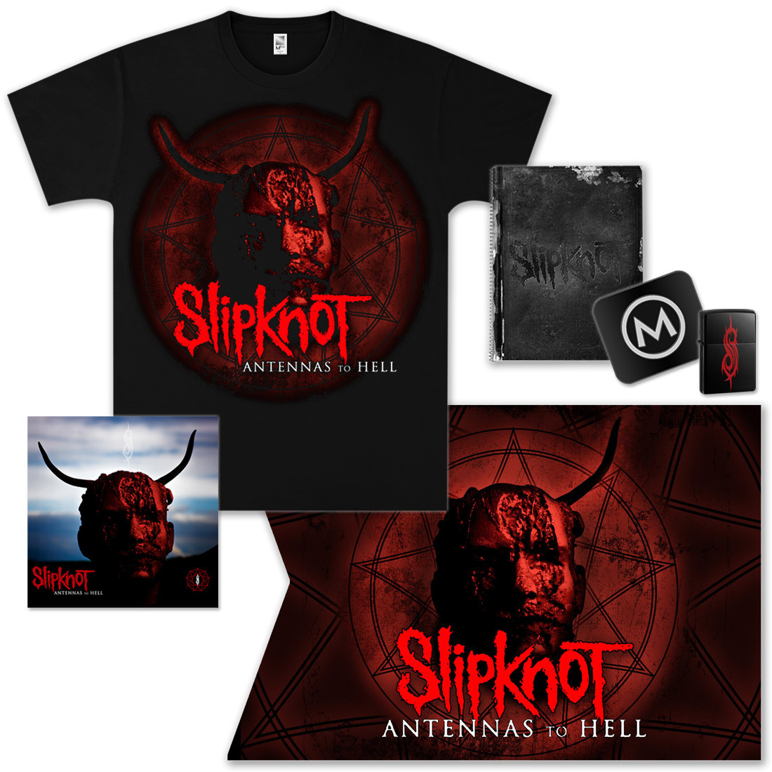 Slipknot Antennas To Hell Bundle