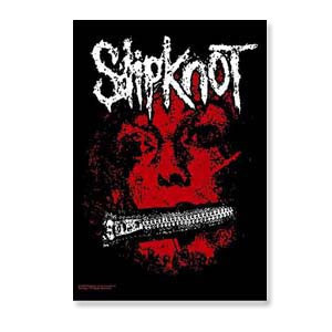 Slipknot Zipper Face Poster Flag