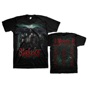 Slipknot Crow Group Tour T-Shirt