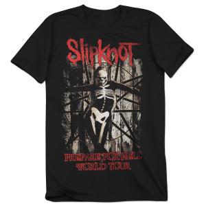 Slipknot Prepare For Hell Skeleton Tour T-Shirt