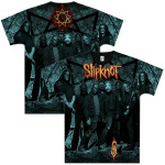 Slipknot Cracked Allover T-Shirt