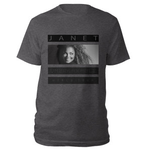 Janet Unbreakable T-Shirt + CD