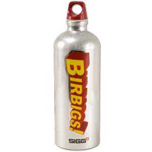 Birbigs! Sigg Water Bottle – 1 Liter
