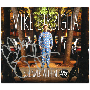 Sleepwalk With Me Live CD - AUTOGRAPHED