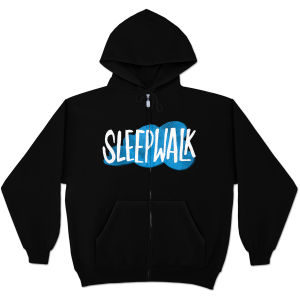 Mike Birbiglia Sleepwalk Zip Hoodie - Black