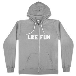 Mike Birbiglia 'Like Fun' Zip Hoodie