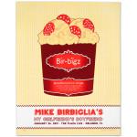 Mike Birbiglia Pizza-Flavored Ice Cream Poster - Orlando, FL 1/26/13