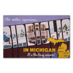 Mike Birbiglia 2014 Michigan Winter Tour Poster