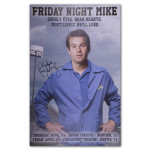 Mike Birbiglia Friday Night Mike Poster - Austin, TX & Houston, TX - Signed