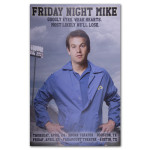 Mike Birbiglia Friday Night Mike Poster - Austin, TX & Houston, TX