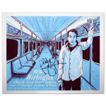 Mike Birbiglia Subway Poster - Brooklyn, NY 9/5/14 - Signed