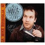 Mike Birbiglia: My Secret Public Journal Live CD [Autographed]