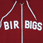 Birbigs Flex Fleece Zip Hoodie - Maroon