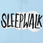 Sleepwalk Light Blue Zip Hoodie