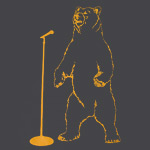 Mike Birbiglia Stand Up Bear Men's T-Shirt
