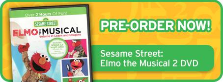 Pre-Order Elmo the Musical 2 DVD