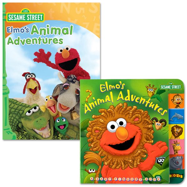 Elmo's Animal Adventure Bundle