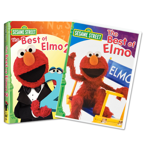 The Best of Elmo DVD Bundle