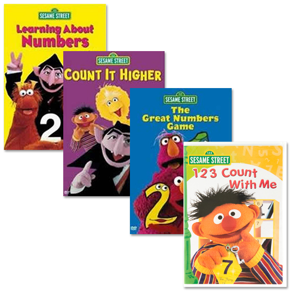 Learning Numbers DVD Bundle