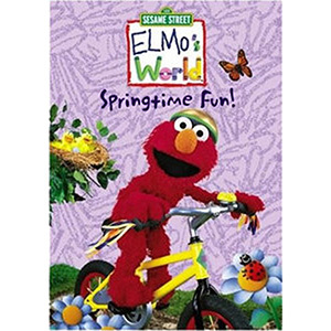 Elmo's World: Springtime Fun DVD