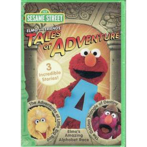 Elmo & Friends Tales Of Adventure DVD