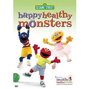 Happy Healthy Monsters DVD