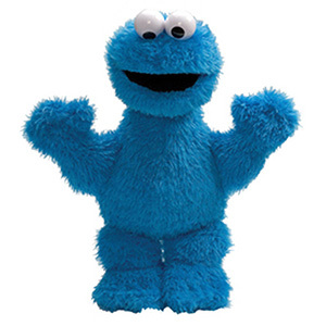 Cookie Monster 13 Inch Plush