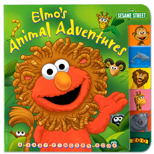 Elmo's Animal Adventures Book