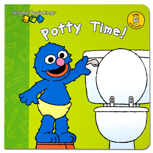 Sesame Beginnings: Potty Time! Book