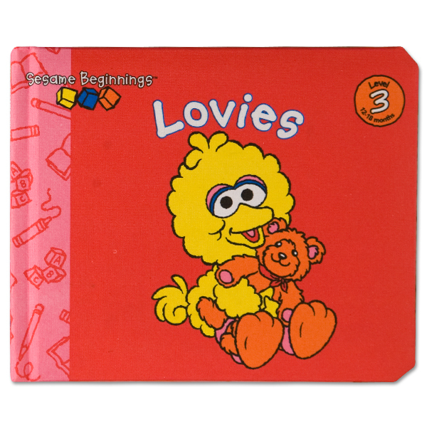 Sesame Beginnings: Lovies Book