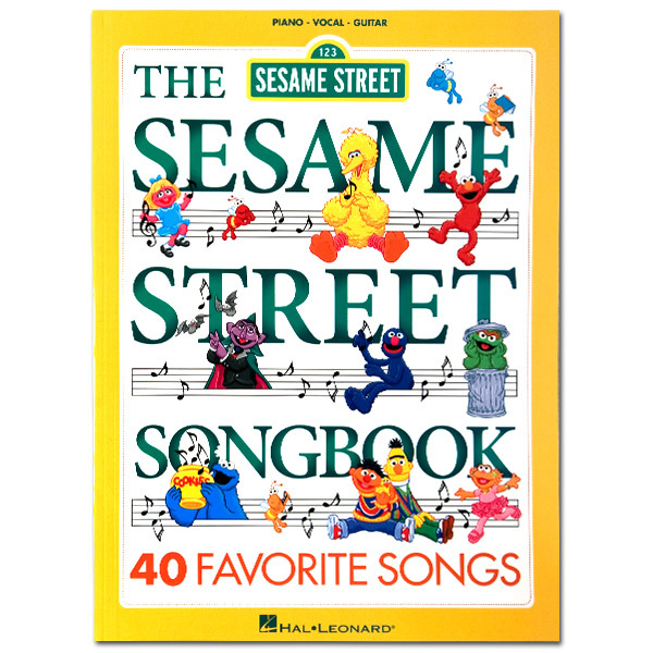 Sesame Street Piano Vocal Guitar Songbook