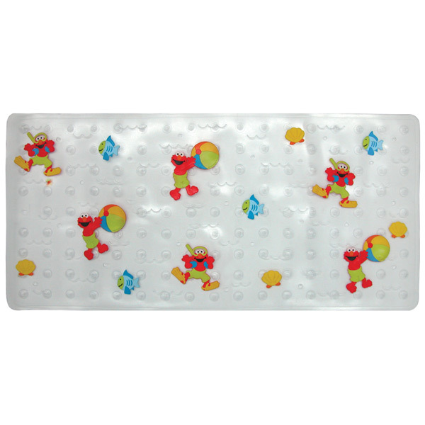 "Elmo Dimensional Bath Mat ""Splish Splash """
