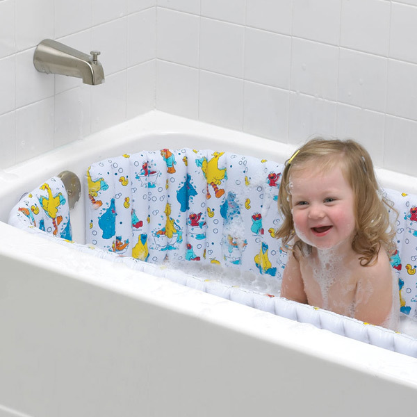 Sesame Street Inflatable Bath Tub Bumper