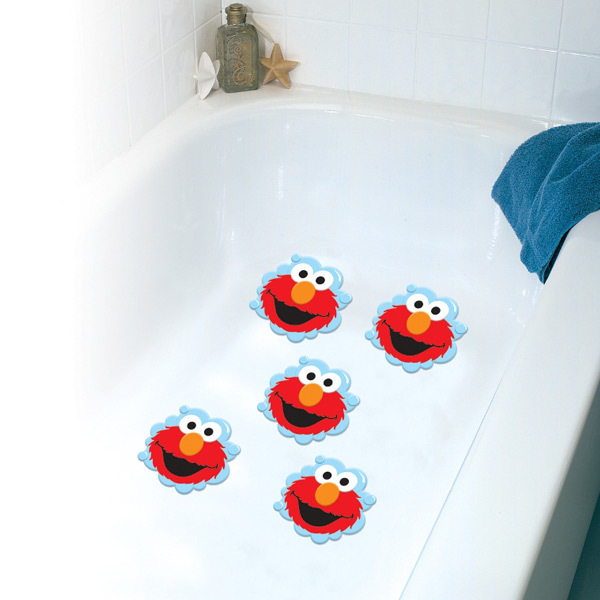 Elmo Bath Tub Treads