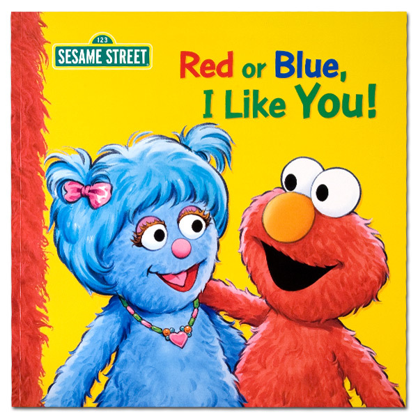 Red or Blue I Like You! Book