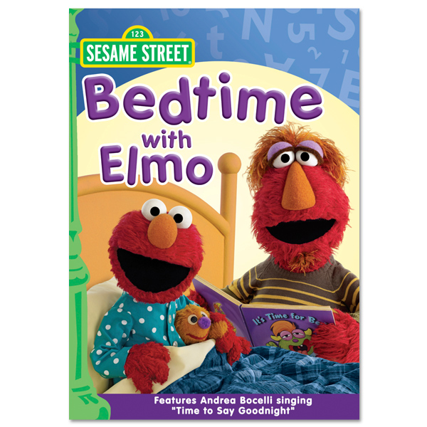 Bedtime With Elmo DVD