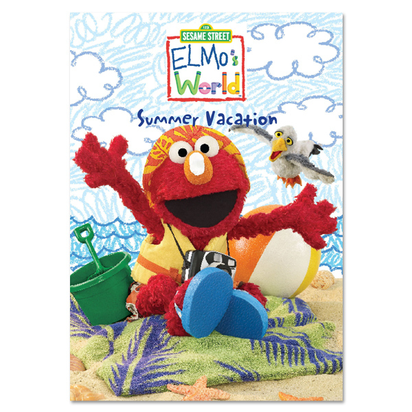 Elmo's World: Summer Vacation DVD